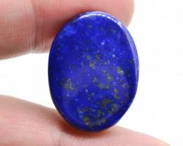 25.35 Ct Lapis Lazuli blue oval cabochons ~ T