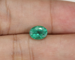 1.18ct Lab Certified Zambian Emerald
