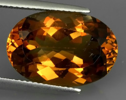10.26 CTS SUPERIOR! CHAMPION TOPAZ GENUINE OVAL