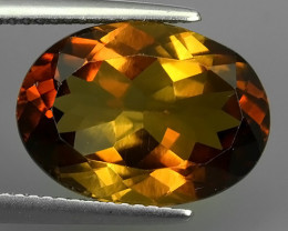 12.15 CTS SUPERIOR! CHAMPION TOPAZ GENUINE OVAL