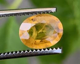 2.00 Carats Yellow Sapphire Gemstones