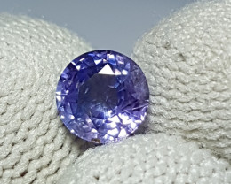 CERTIFIED 1.43 CTS NATURAL STUNNING ROUND MIX VIOLET BLUE SAPPHIRE SRI LANK