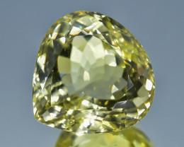 21.20 Crt Natural Lemon Quartz Faceted Gemstone.( AB 03)