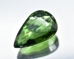 0.69 Crt Natural Chrome Tourmaline Faceted Gemstone.( AB 03)