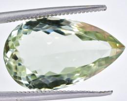 12.12 Crt Prasiolite Green Amethyst Faceted Gemstone (Rk-62)