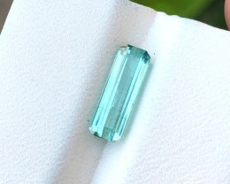 1.60 Ct Natural Paraiba Color  Transparent Tourmaline Gemstone