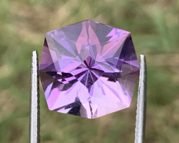 8.70 cCarats fancy cut amethyst gemstone
