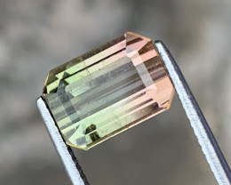 3.55 carats Bi-colour /watermelon Tourmaline Gemstone