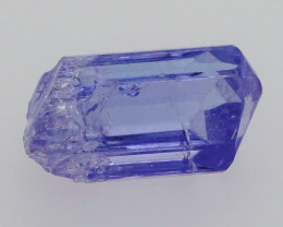 Unique! Terminated! 4.05 CT Unheated Violet Tanzanite Mineral Specimen