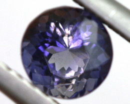 0.81 CTS  IOLITE NATURAL FACETED GEMSTONE RNG-468