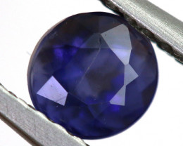 0.55 CTS  IOLITE NATURAL FACETED GEMSTONE RNG-474