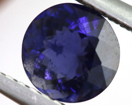 0.88 CTS  IOLITE NATURAL FACETED GEMSTONE RNG-476