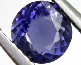 0.55 CTS  IOLITE NATURAL FACETED GEMSTONE RNG-478