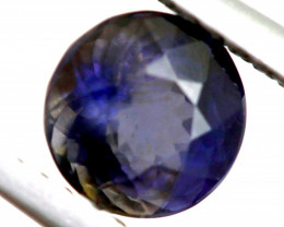 0.91 CTS  IOLITE NATURAL FACETED GEMSTONE RNG-483