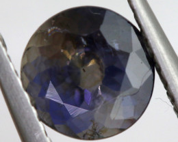 1.16 CTS  IOLITE NATURAL FACETED GEMSTONE RNG-485