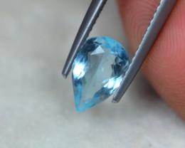 1.16ct Natural Blue Aquamarine Pear Cut Lot V5322