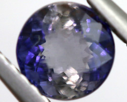 0.77 CTS  IOLITE NATURAL FACETED GEMSTONE RNG-457