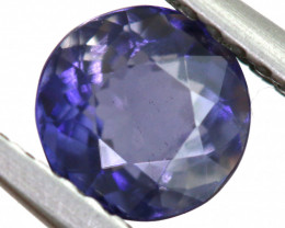 0.82 CTS  IOLITE NATURAL FACETED GEMSTONE RNG-490