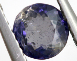 0.66 CTS  IOLITE NATURAL FACETED GEMSTONE RNG-491