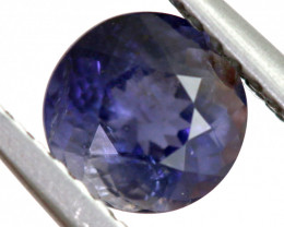 0.80 CTS  IOLITE NATURAL FACETED GEMSTONE RNG-492