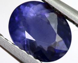 0.65 CTS  IOLITE NATURAL FACETED GEMSTONE RNG-495