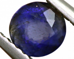 0.65 CTS  IOLITE NATURAL FACETED GEMSTONE RNG-497