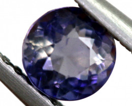 0.68 CTS  IOLITE NATURAL FACETED GEMSTONE RNG-502