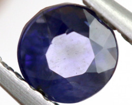 0.69 CTS  IOLITE NATURAL FACETED GEMSTONE RNG-505