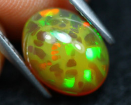 Welo Opal 2.07Ct Natural Ethiopian Play of Color Opal A2407