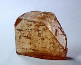 76.20 CT Natural & Unheated Orange Brown Topaz Crystal