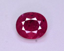 Brilliant Color 2.80 Ct Natural Ruby From Mozambique