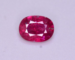 Brilliant Color 1.45 Ct Natural Ruby From Mozambique