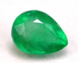 Emerald 1.18Ct Natural Zambian Green Color Emerald A2501