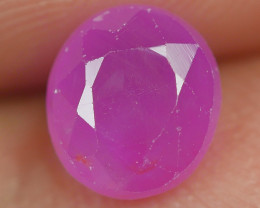 1.60 CRT BEAUTY DEEP PINK RUBY MADAGASKAR-