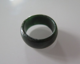 NATURAL JADEITE RING from BURMA....25.78cts...size 9