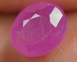 2.30 CRT BEAUTY DEEP PINK RUBY MADAGASKAR-