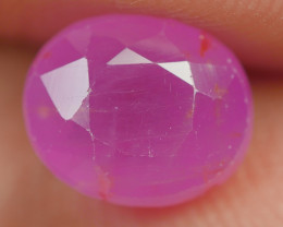 2.50 CRT BEAUTY DEEP PINK RUBY MADAGASKAR-