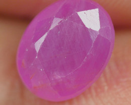 1.80 CRT BEAUTY DEEP PINK RUBY MADAGASKAR-