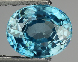 2.92 CT NATURAL  ZIRCON SPARKLING LUSTER Z12