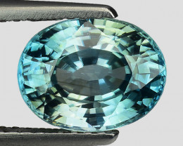 3.06 CT NATURAL  ZIRCON SPARKLING LUSTER Z23