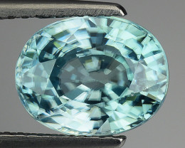 3.84 CT NATURAL  ZIRCON SPARKLING LUSTER Z26