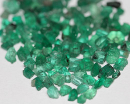 Lot of Colombian Emerald Mina Muzo