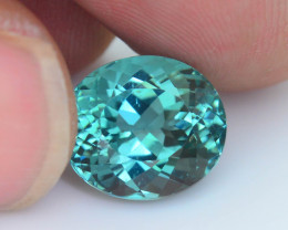Apatite 5.63 ct Mesmerizing Caribbean Color