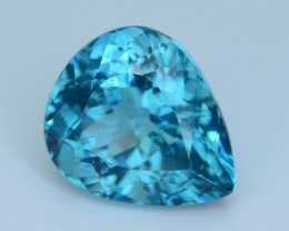 Great Luster 7.74 ct Apatite Mesmerizing Caribbean Color