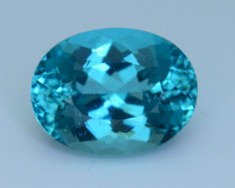 Great Luster 9.55 ct Apatite Mesmerizing Caribbean Color
