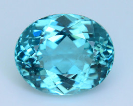 Great Luster 4.29 ct Apatite Mesmerizing Caribbean Color
