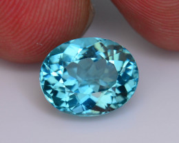 Apatite ~Great Luster 3.30 ct Mesmerizing Caribbean Color