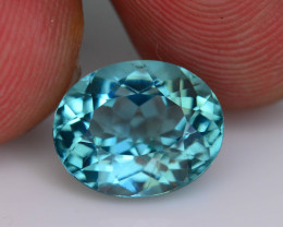 Great Luster 3.21 ct Apatite Mesmerizing Caribbean Color
