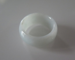 NATURAL JADEITE RING from BURMA....31.85cts...size 8 2/4