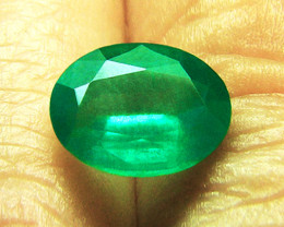 Magnificent Stone! 1.78 ct Emerald Certified!